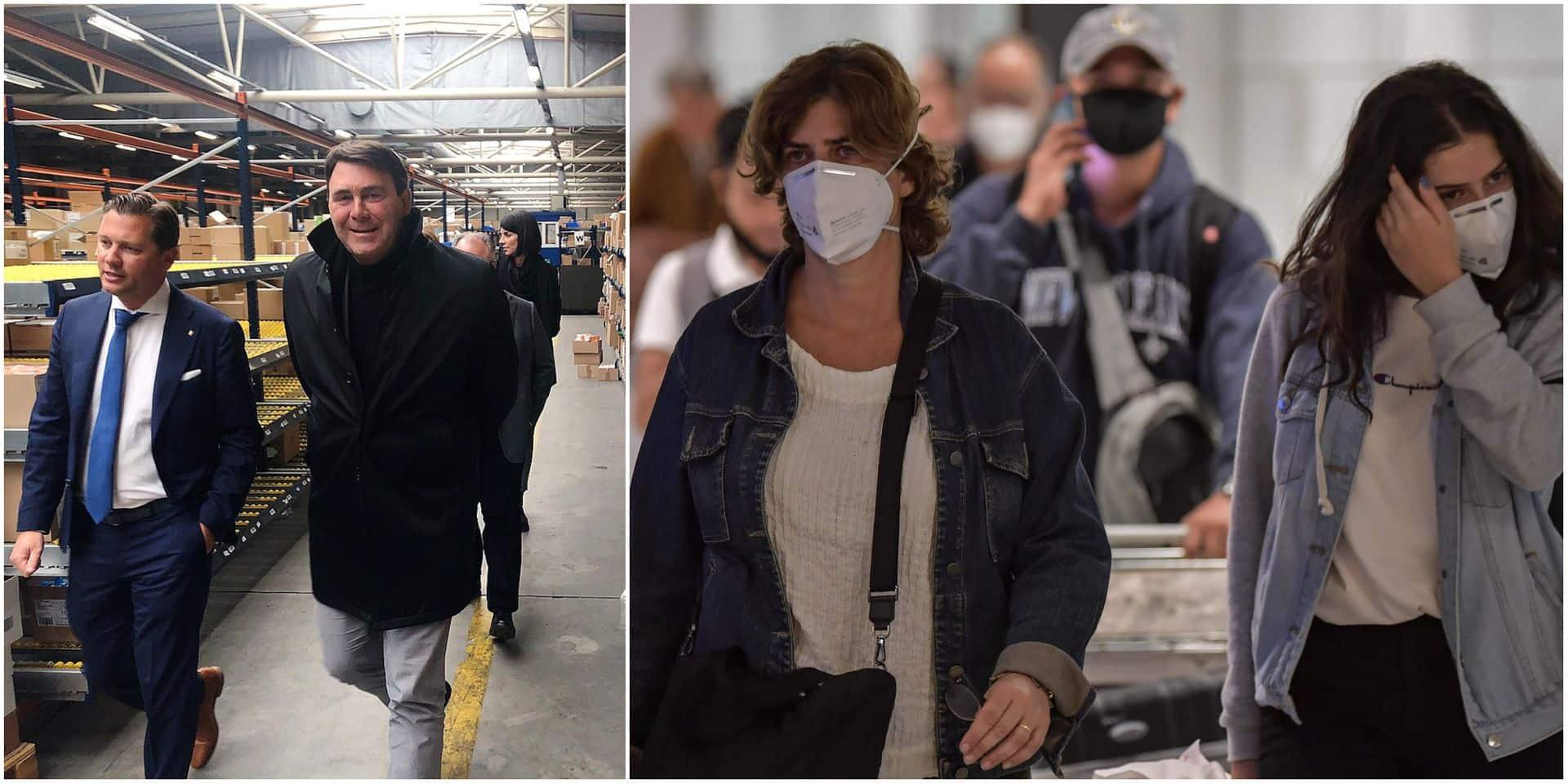 Une solution belge face à la pénurie de masques pour lutter contre le coronavirus: 3 millions d'unités fournies en 3 jours!