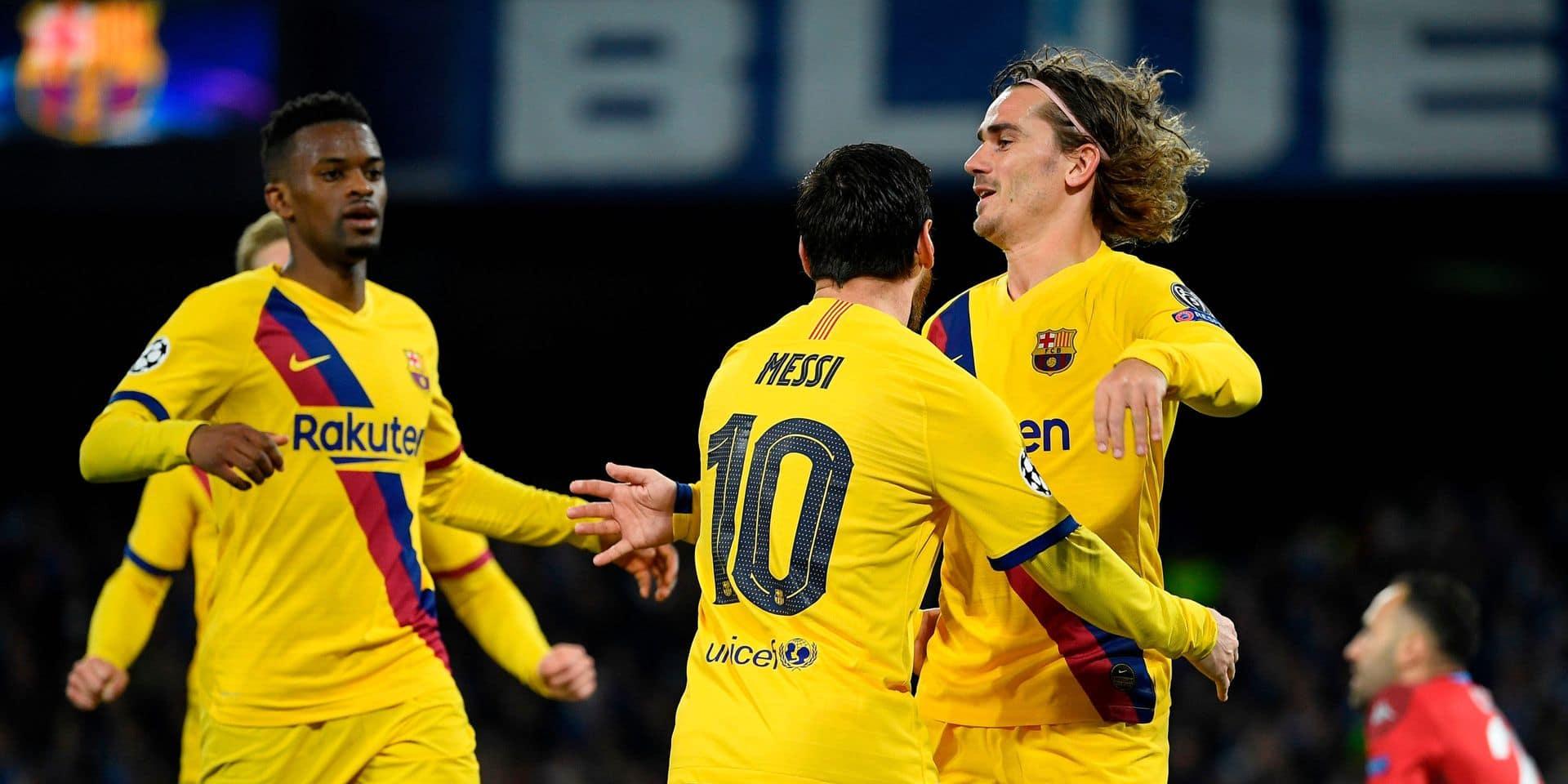 Le Bayern Munich corrige Chelsea, Naples et Barcelone se quittent sur un match nul avec un Mertens buteur mais blessé
