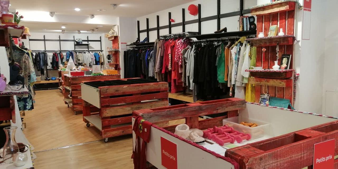 Tournai: la Vesti Boutique de la Croix-Rouge fait peau neuve