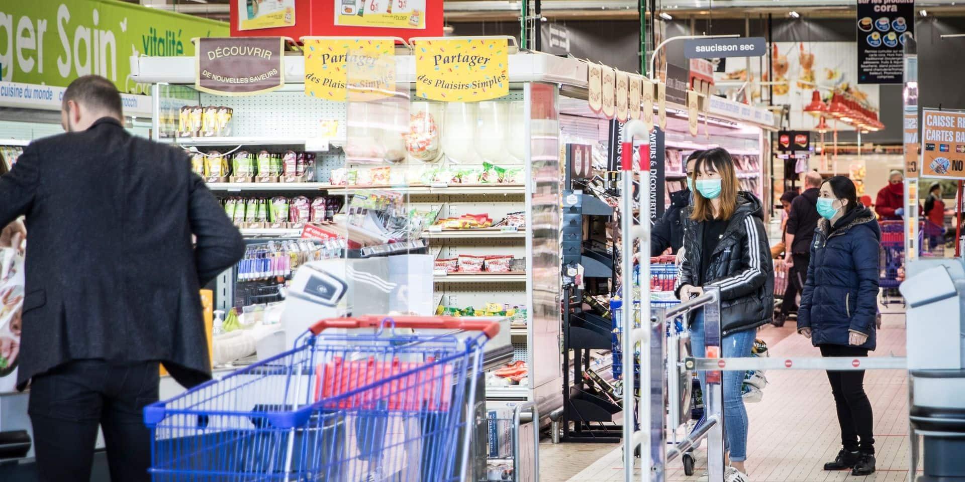 Des jeunes crient qu'ils ont le coronavirus dans un magasin de Wavre et crachent sur les clients: ils ont été privés de liberté