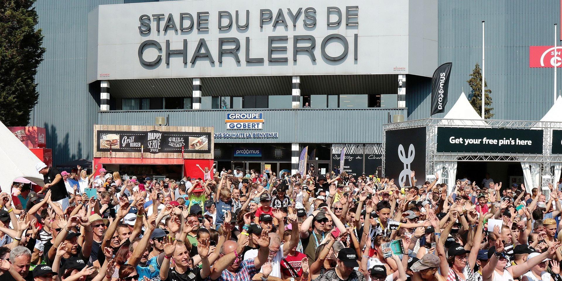 Les supporters de Charleroi ont peur avant cette saison : voici les raisons