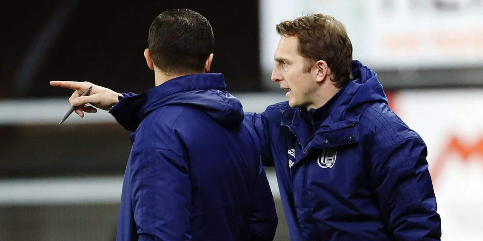 Anderlecht tente le coaching 2.0