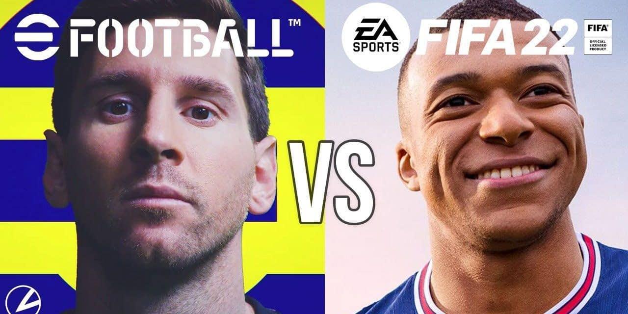 FIFA 22 vs eFootball: la guerre du foot en jeu vidéo, plus tronquée que jamais (PODCAST)