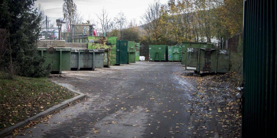 Malonne : le recyparc fermé à partir de ce lundi 8 mars jusqu'au 12 avril inclus