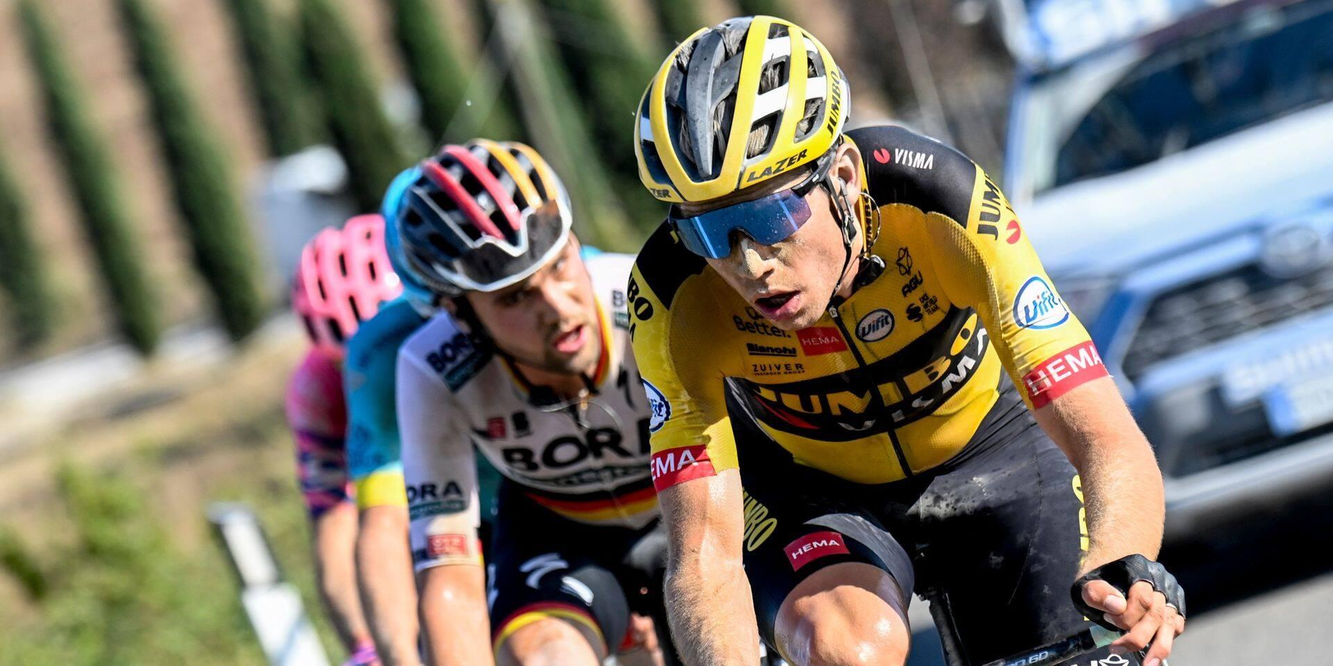 Wout Van Aert dévoile son programme sur route et manquera le week-end d'ouverture en Belgique