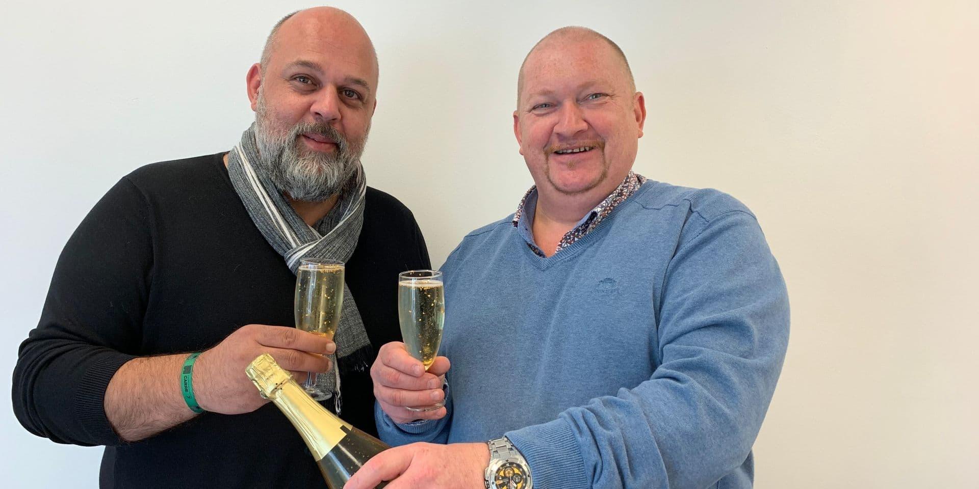 Olivier et Yves mettent de l'or en bouteille : un Cava millésime 23 carats !