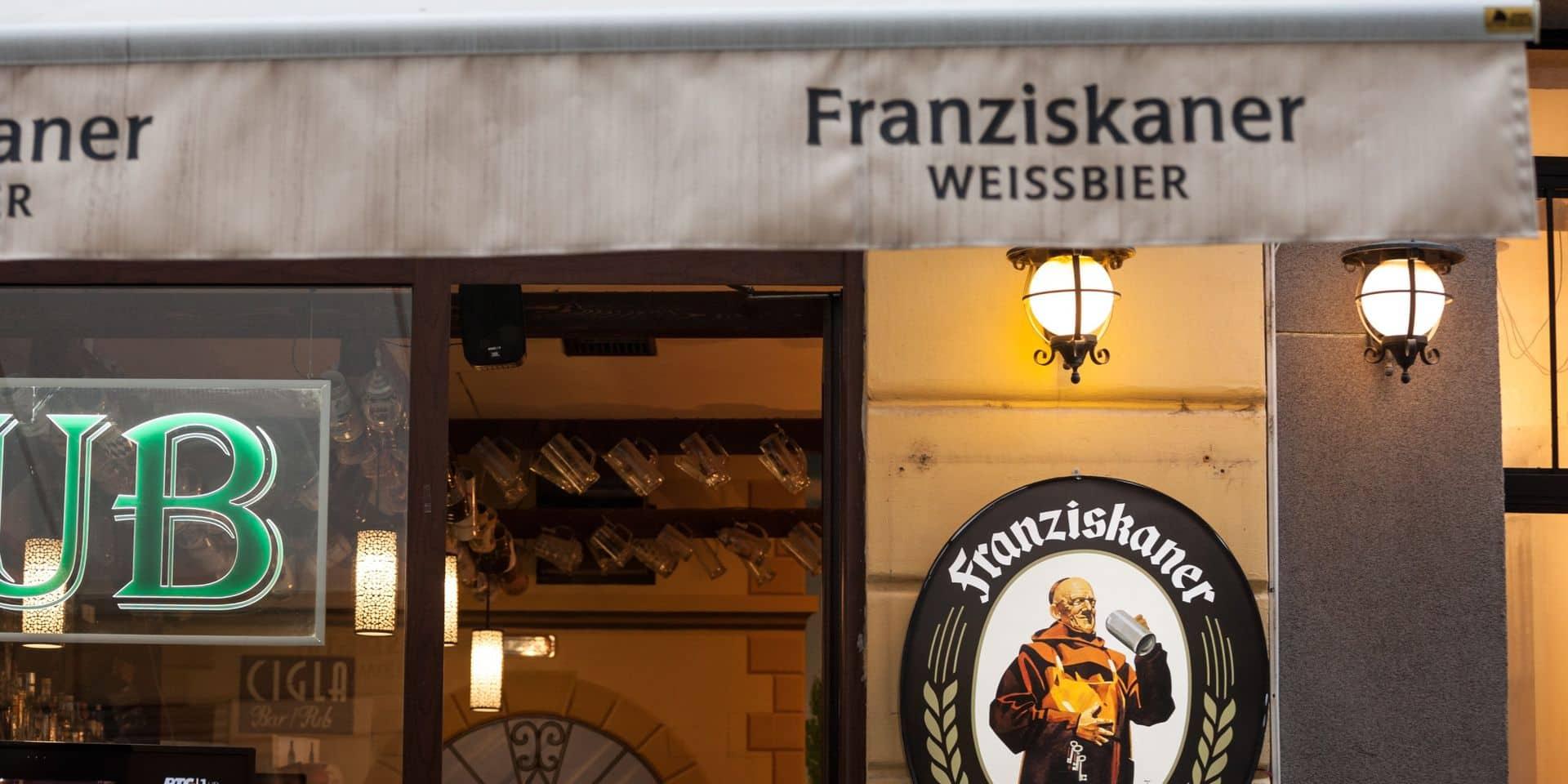 Plusieurs marques allemandes, comme la Franziskaner Weissbier, pourraient sortir du groupe AB InBev.