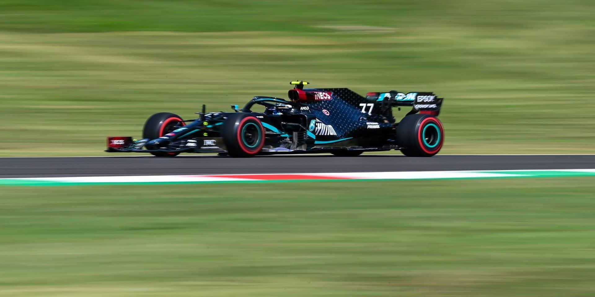 GP de Toscane: Bottas établit un nouveau record de la piste, Leclerc (Ferrari) 3ème!
