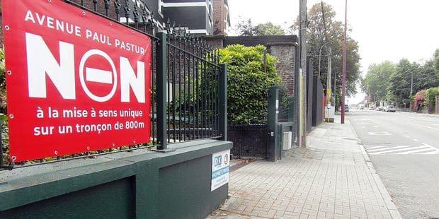 Mont-sur-Marchienne: l'avenue Paul Pastur sera bien à sens unique - La DH