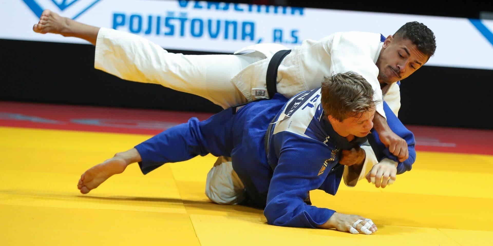 Judo : Matthias Casse bat Sami Chouchi à l'Euro !