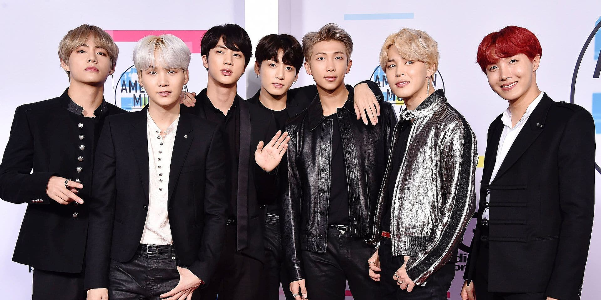 American Music Awards 2017 - Arrivals. BTS at the 2017 American Music Awards held at the Microsoft Theatre L.A. Live URN:33808324 + PHOTO NEWS / ! only BELGIUM !