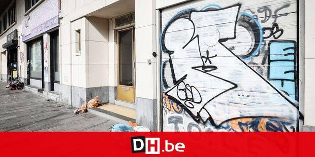 Photos Bernard Demoulin : Graffiti a Ixelles il y en a partout. Les Graffitis sur les murs d' Ixelles