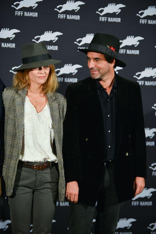 2017. Sortie publique officielle avec son compagnon depuis 2016 Samuel Benchetrit pour la sortie du film