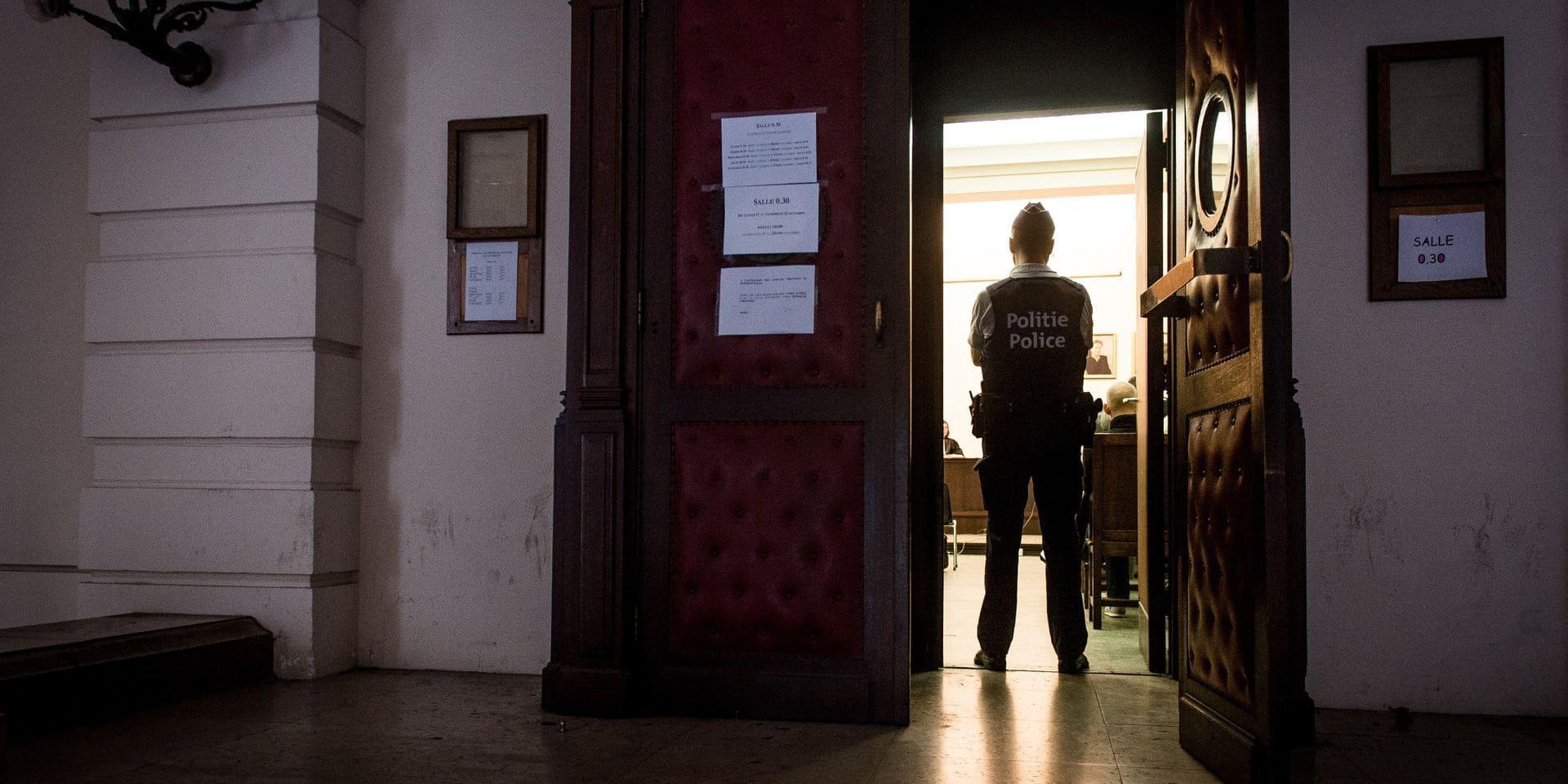 Un an de prison par défaut pour une scène de coups et blessures sur son ex-compagne à Péronnes-lez-Binche