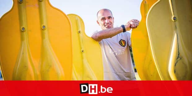 Belgian Red Devils head coach, Spanish Roberto Martinez poses at a photoshoot in Dedovsk training center, Moscow, Russia, Thursday 12 July 2018. BELGA PHOTO LAURIE DIEFFEMBACQ