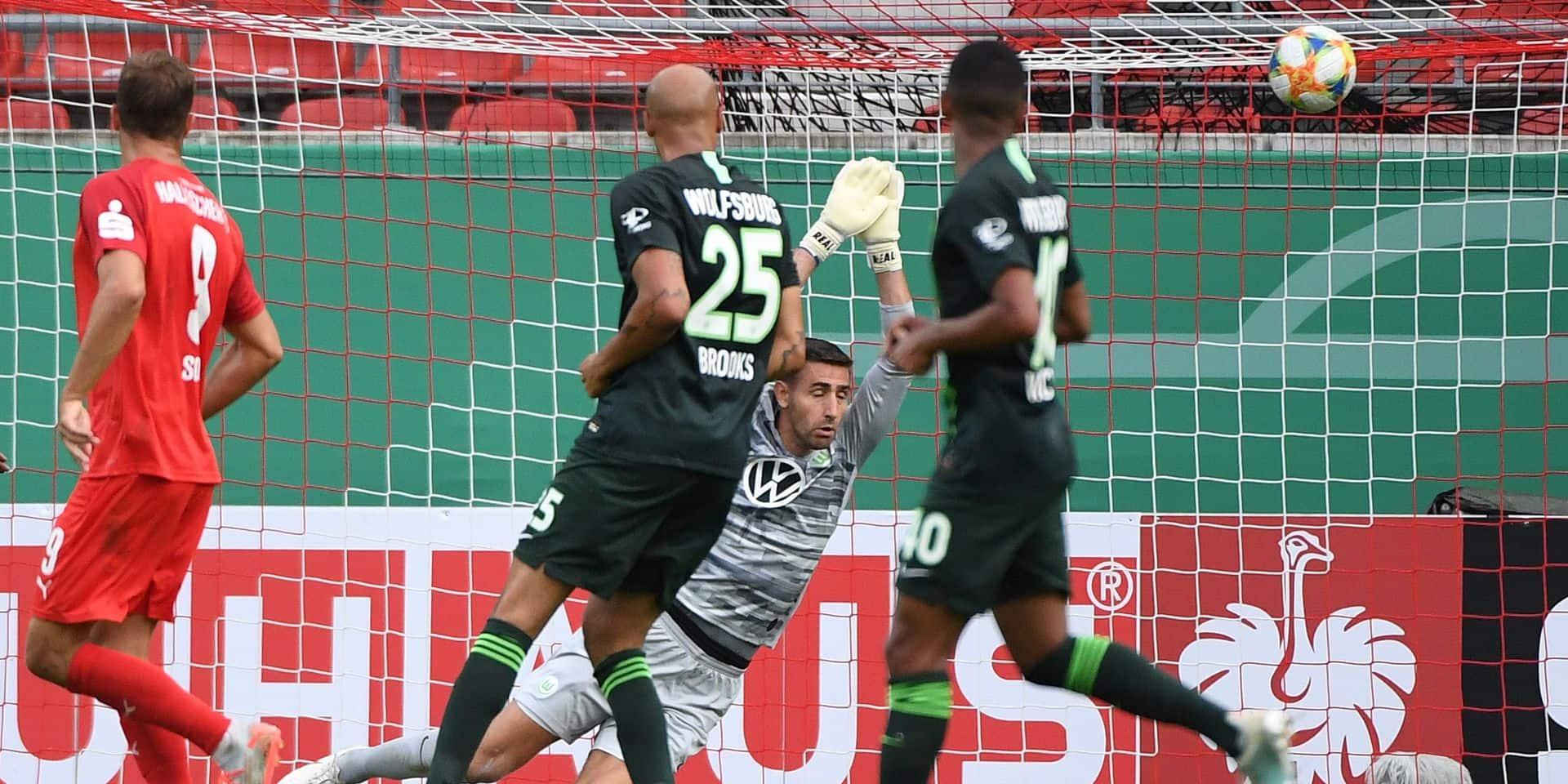 Les Belges à l'étranger: Koen Casteels et Wolfsburg qualifiés après prolongations en Coupe d'Allemagne
