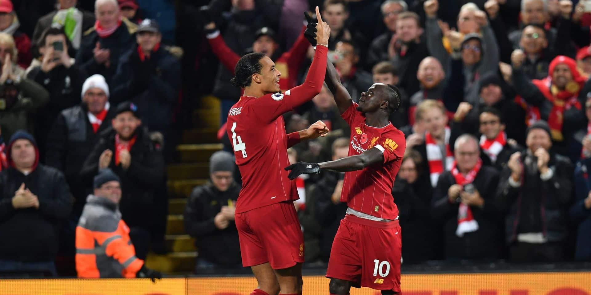 Liverpool assomme ManCity (3-1) et frappe un grand coup sur la Premier League (VIDEOS)