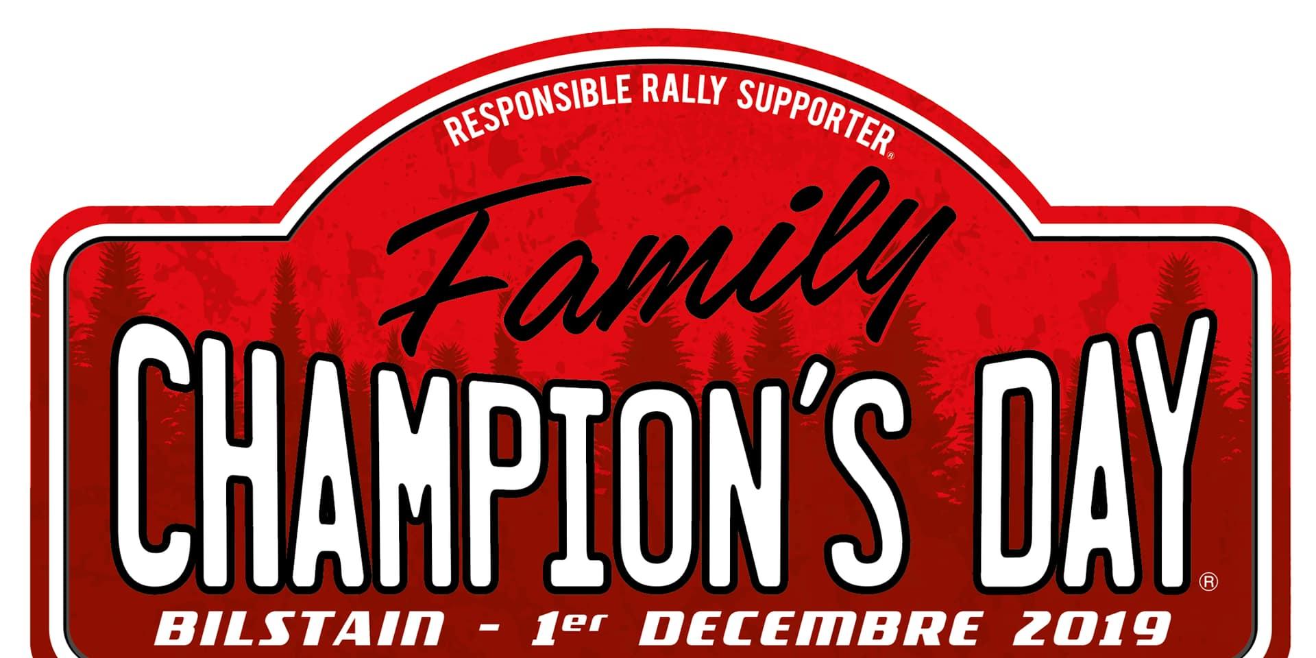 Retour du Champion's Day le 1er décembre à Bilstain