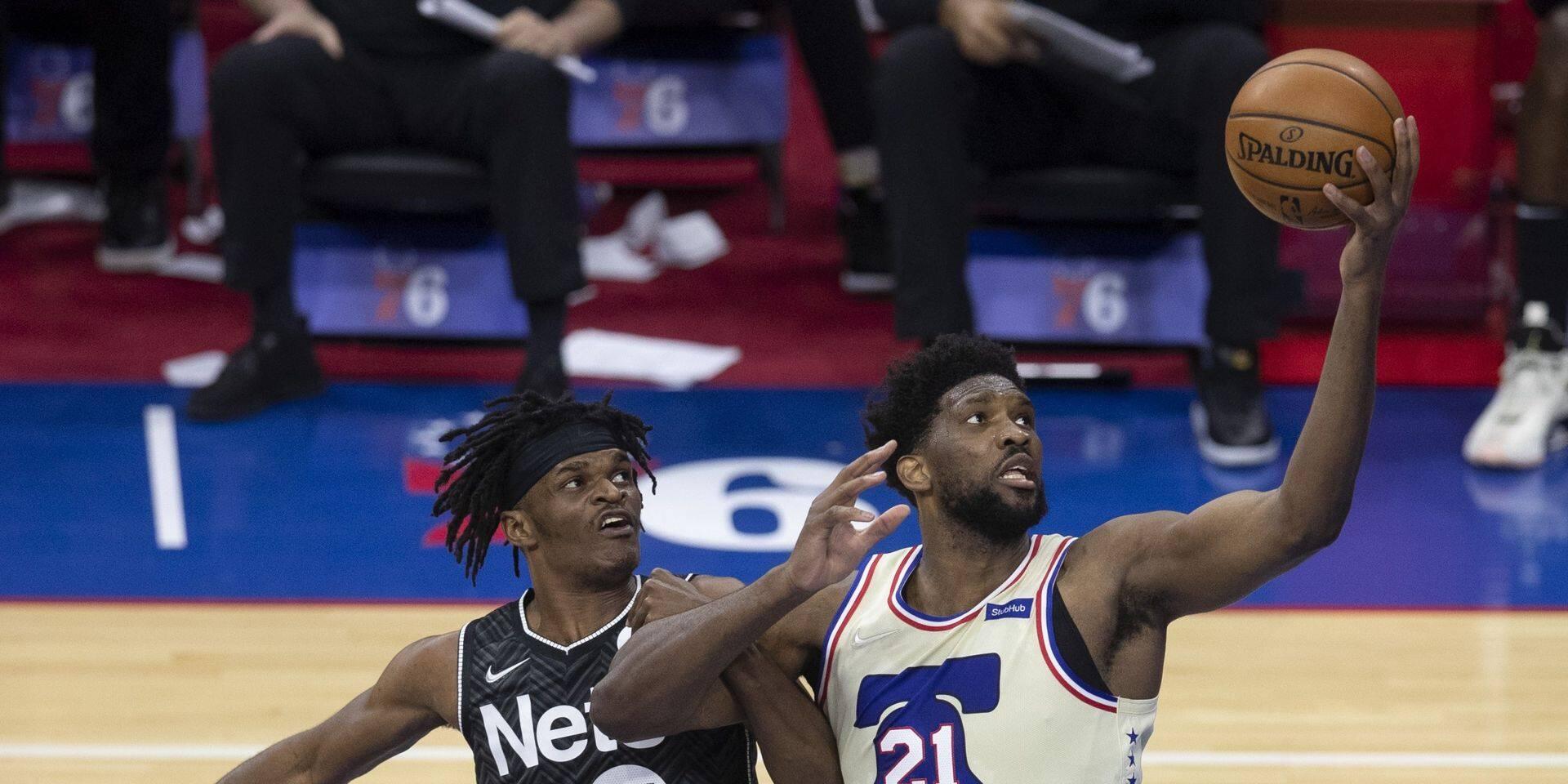 NBA: Philly au complet bat péniblement Brooklyn diminué