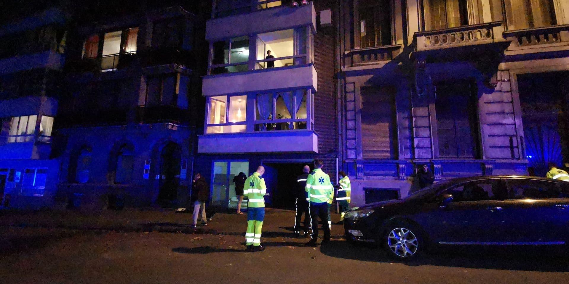Un immeuble évacué boulevard De Fontaine après un début d'incendie au rez