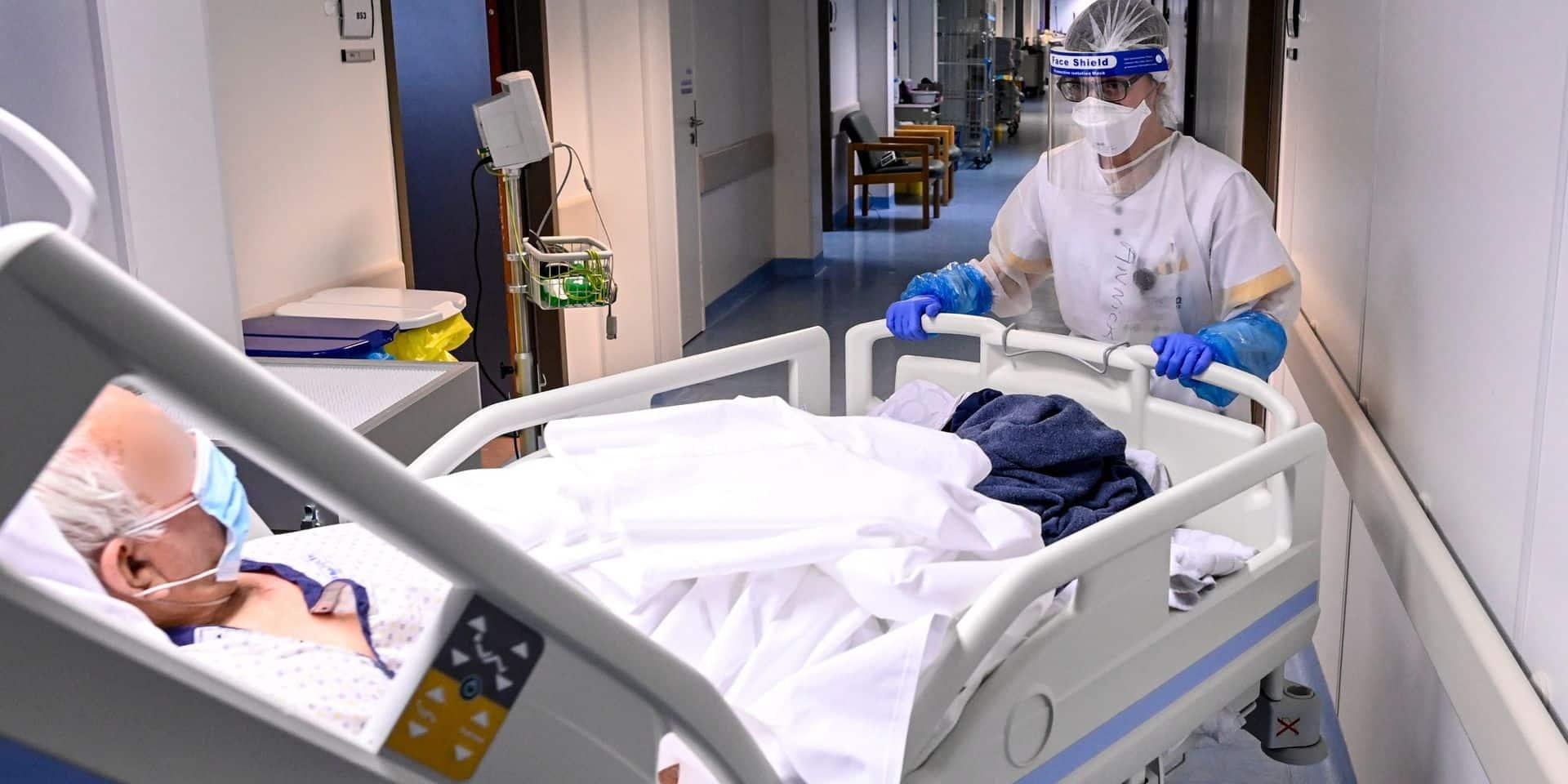 La situation reste très tendue au sein des hôpitaux dans le Hainaut