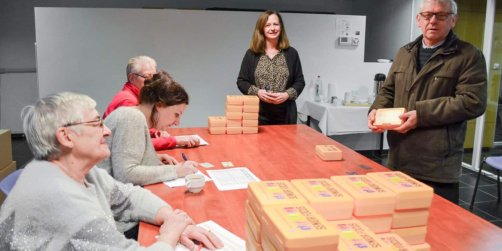 Frasnes : 2500 boîtes jaunes distribuées sur l'entité !