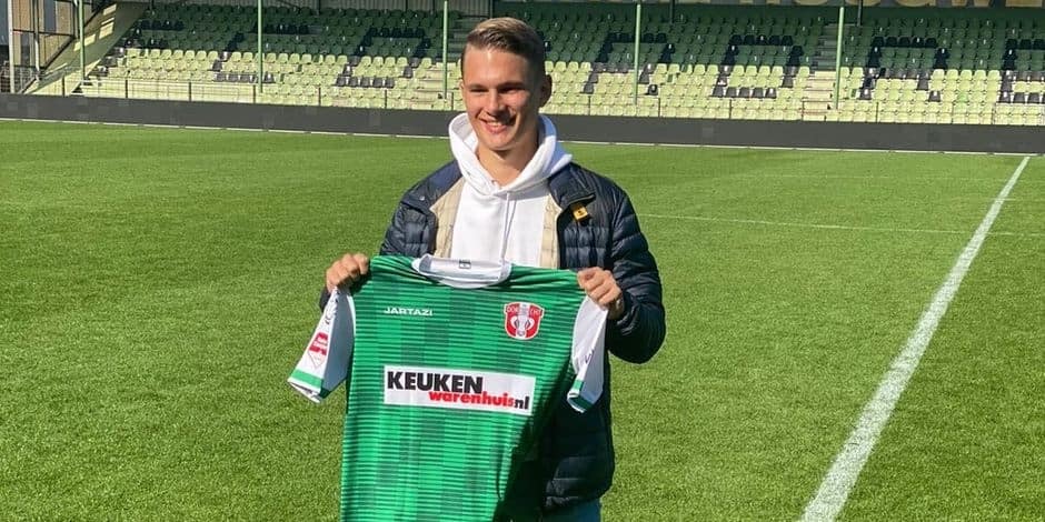 Mathis Suray quitte Anderlecht pour la D2 néerlandaise