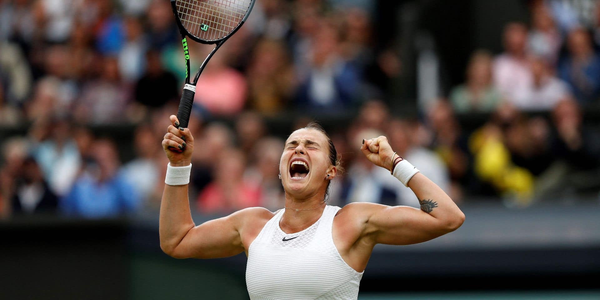Le déclic d'Aryna Sabalenka à Wimbledon