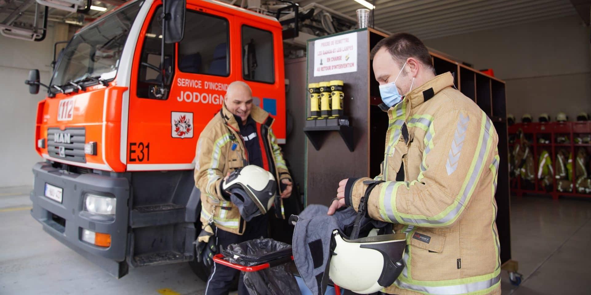 """Moins de sorties """"ambulances"""" pour les pompiers du Brabant wallon en 2020"""