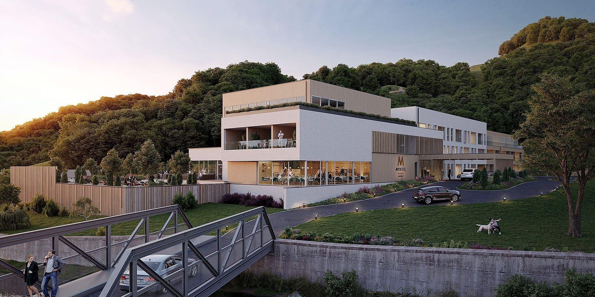 Malmedy : un hôtel 4 étoiles sur l'ancien site Intermills !