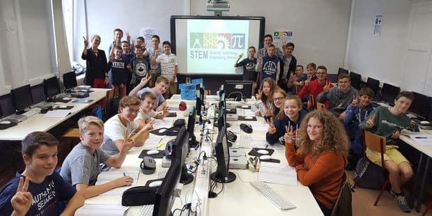 Une première classe STEM en Wallonie - La DH