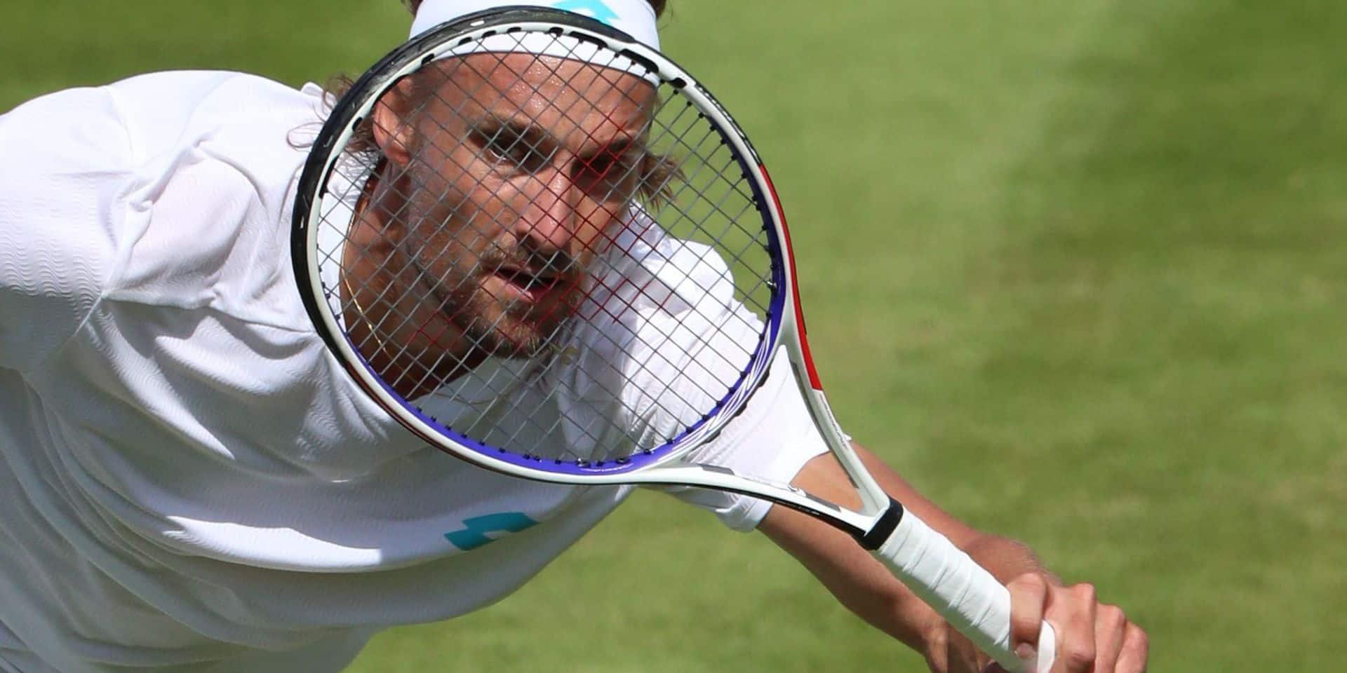 """Bemelmans éliminé, il n'y aura aucun compatriote à Wimbledon: """"Le tennis belge n'est pas si génial que ça"""""""