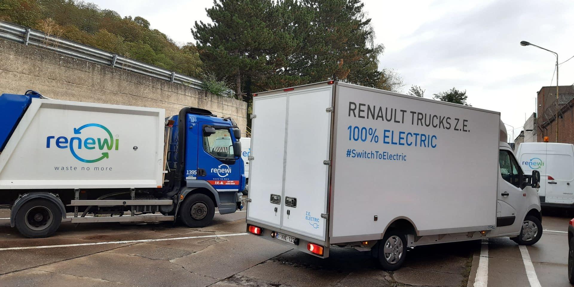 Des véhicules propres pour collecter les déchets liégeois