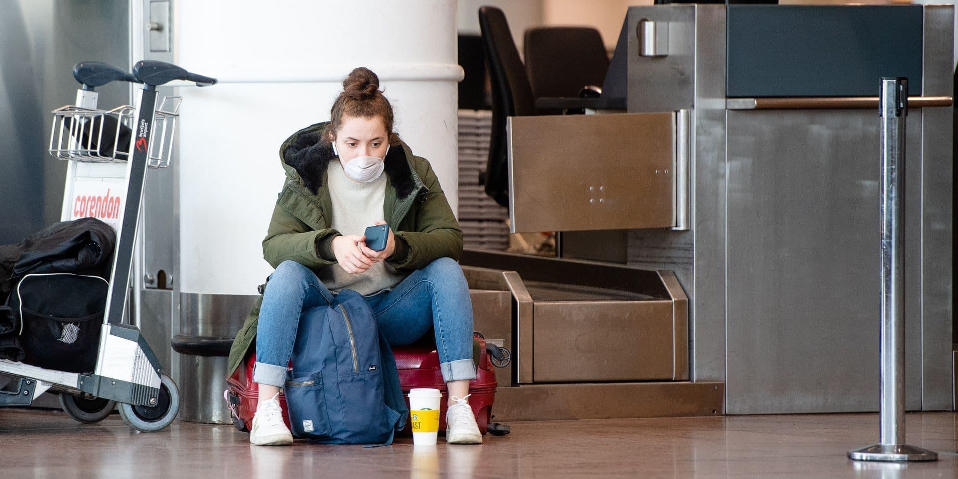 Brussels Airport: les passagers priés de se mettre en quarantaine pendant 14 jours