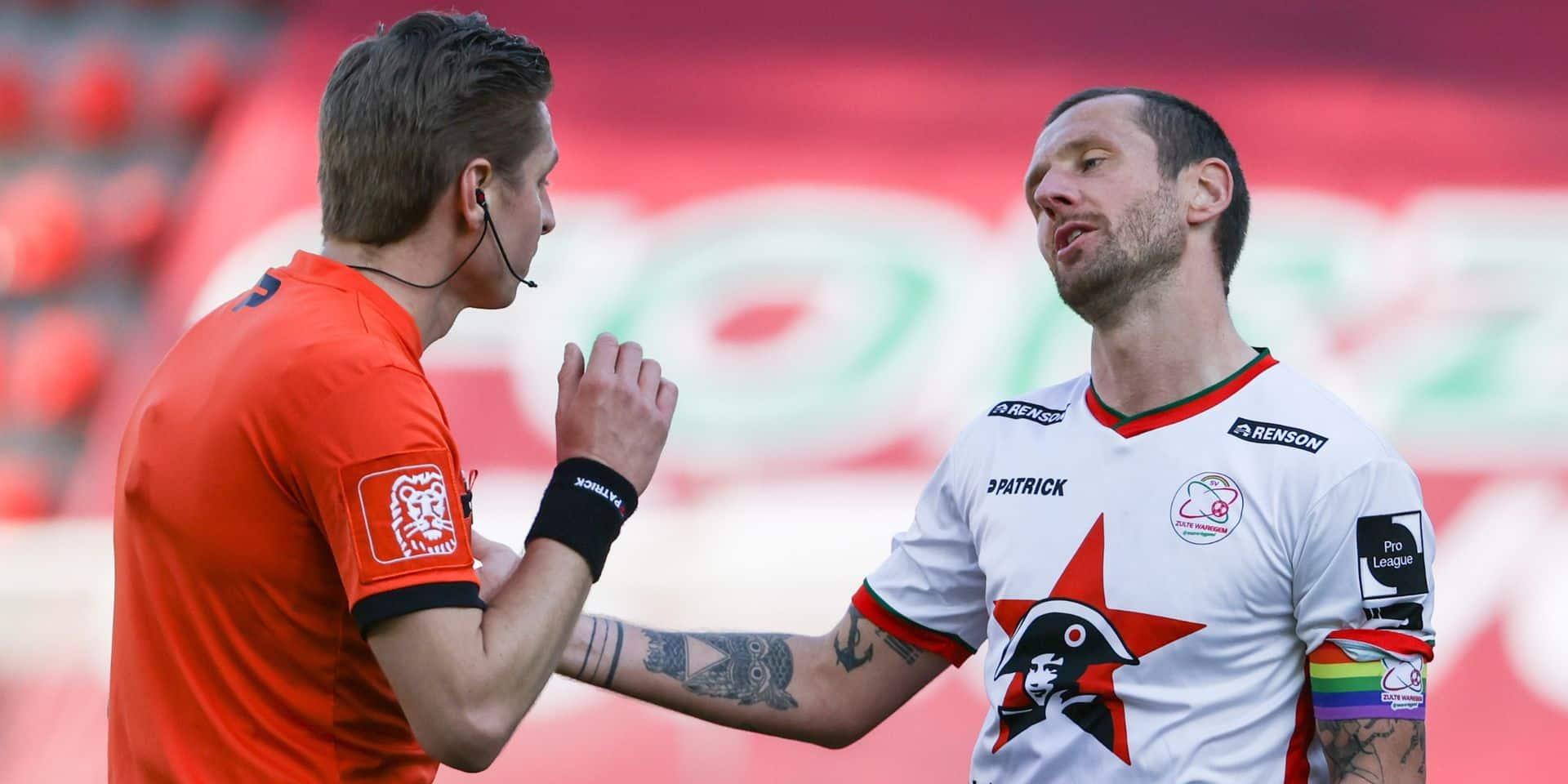 Zulte Waregem ne prolonge pas le contrat de son capitaine Damien Marcq