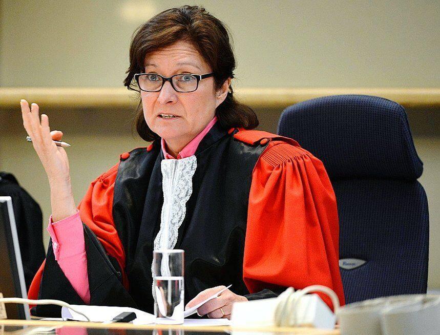 Monique Levecque. Reste présidente du tribunal de première instance du Hainaut