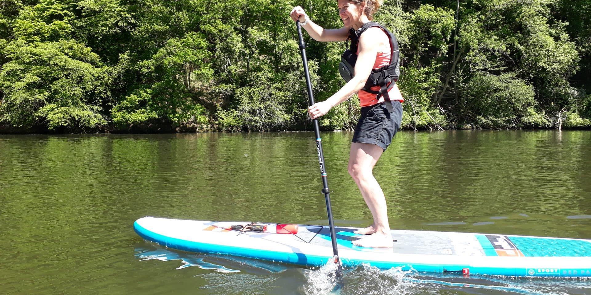 Les kayakistes se rabattent sur le lac de Nisramont