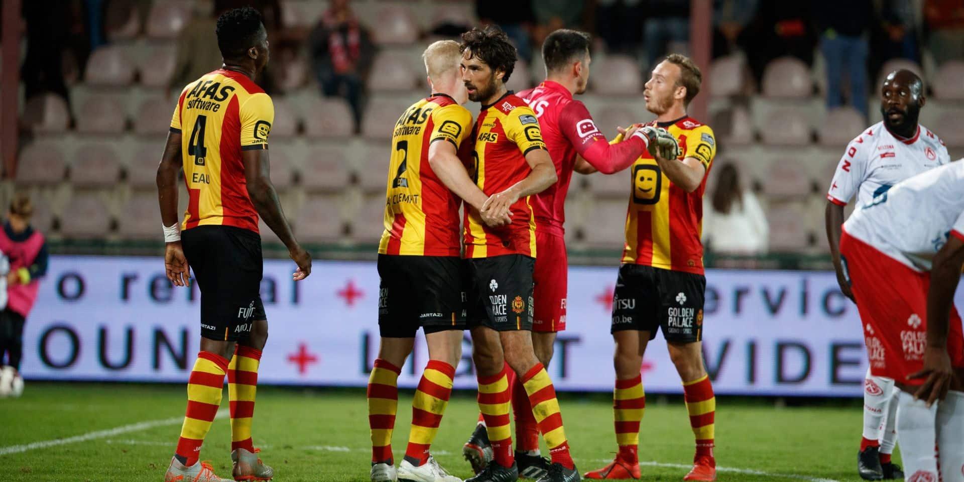 Mené à la marque par Courtrai, Malines marque trois buts en neuf minutes (2-3)