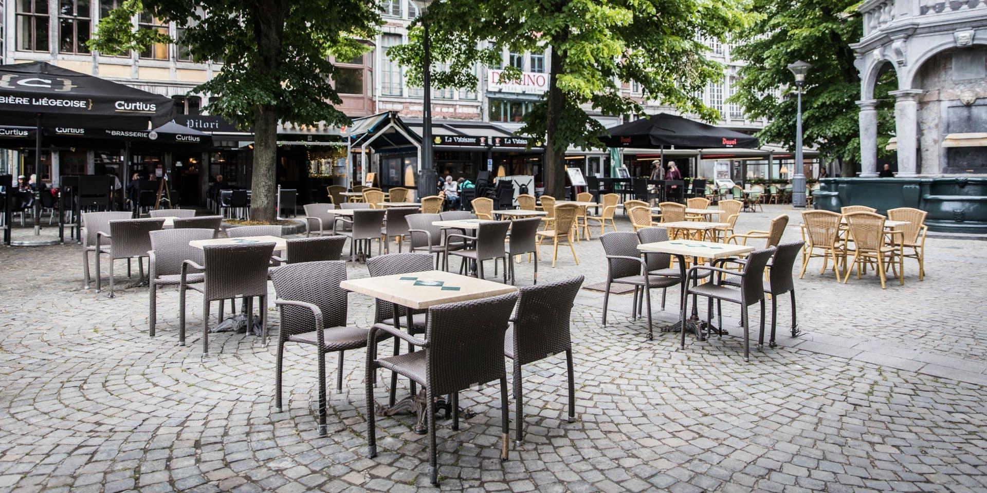Neupré propose à l'Horeca l'extension des terrasses