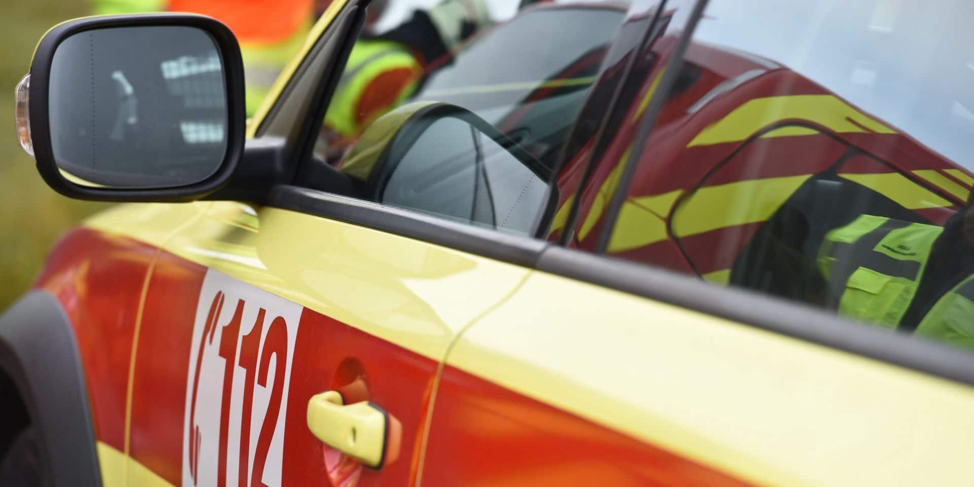 Engis : une voiture tombe dans la Meuse