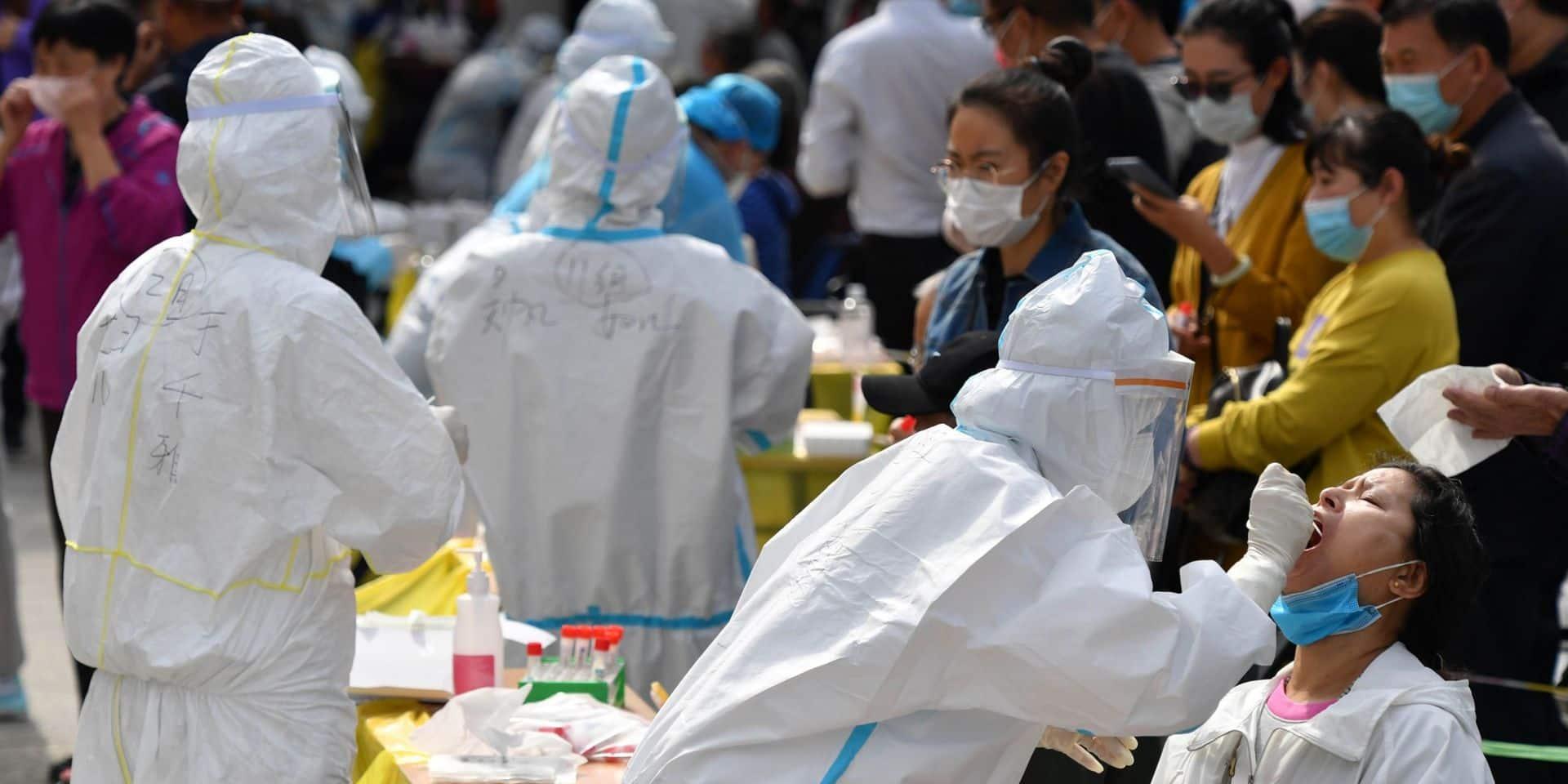 Coronavirus : la ville chinoise de Qingdao teste 7,5 millions de personnes en trois jours