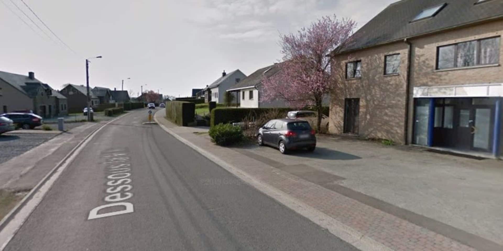 Accident de la circulation à Libramont : deux véhicules impliqués