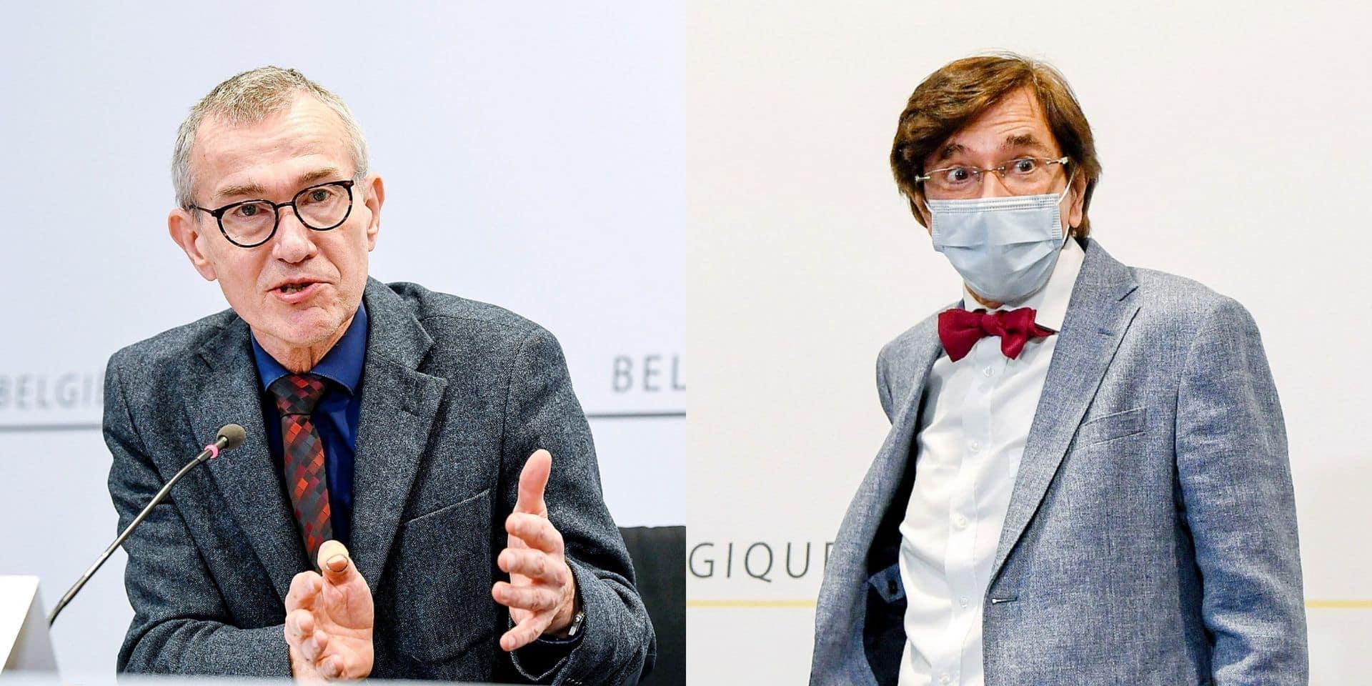 """Les tensions montent entre le parti socialiste flamand et wallon: """"Il y a eu des échanges francs"""""""