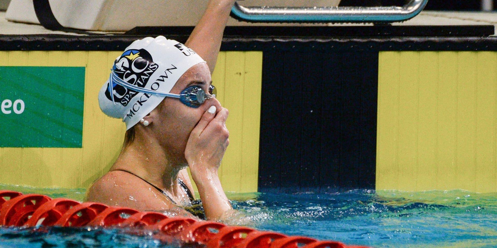 La nageuse australienne Kaylee McKeown bat le record du monde du 100 mètres dos