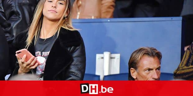 Herve Renard and his daughter Candice Renard during the Ligue 1 match between Paris Saint Germain and Nantes at Parc des Princes on November 18, 2017 in Paris, France. Photo by Christian Liewig/ABACAPRESS.COM Reporters / Abaca