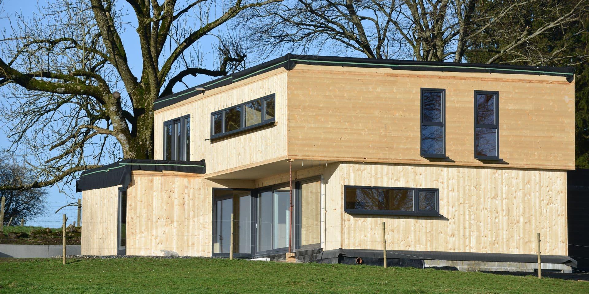 En Belgique, une construction sur dix est en bois