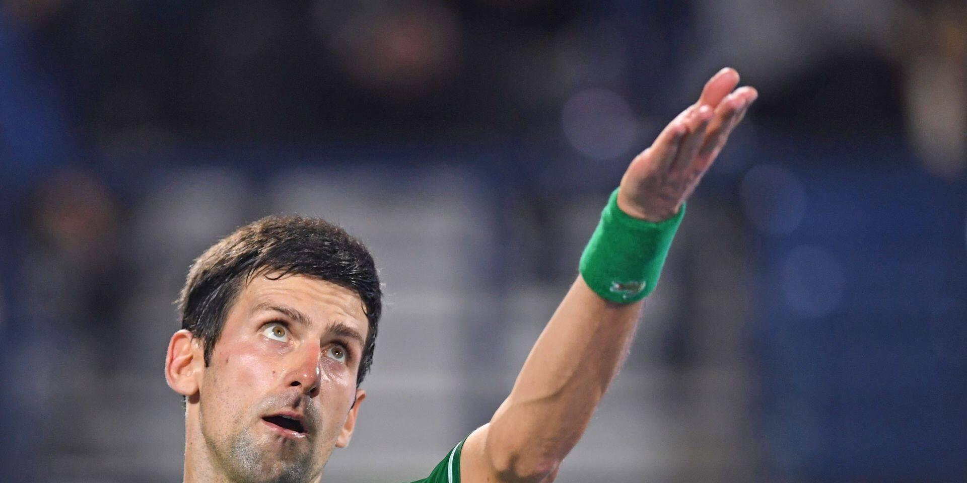 """Après avoir hésité, Novak Djokovic a finalement décidé de se rendre à New York: """"Je ne suis pas venu parce que Nadal et Federer sont absents"""""""
