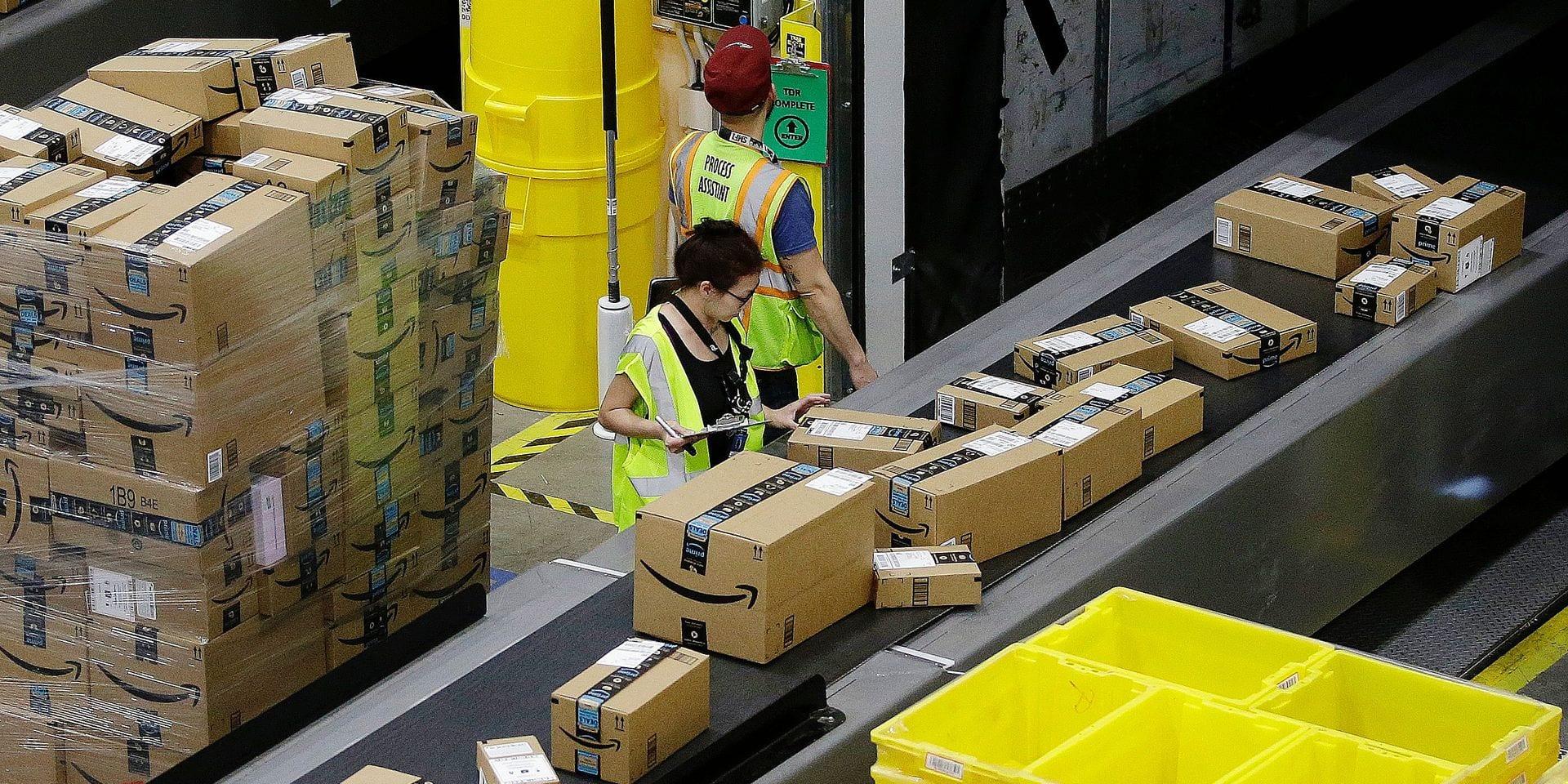Loin derrière l'ogre Amazon, les e-commerçants européens sont à la traîne