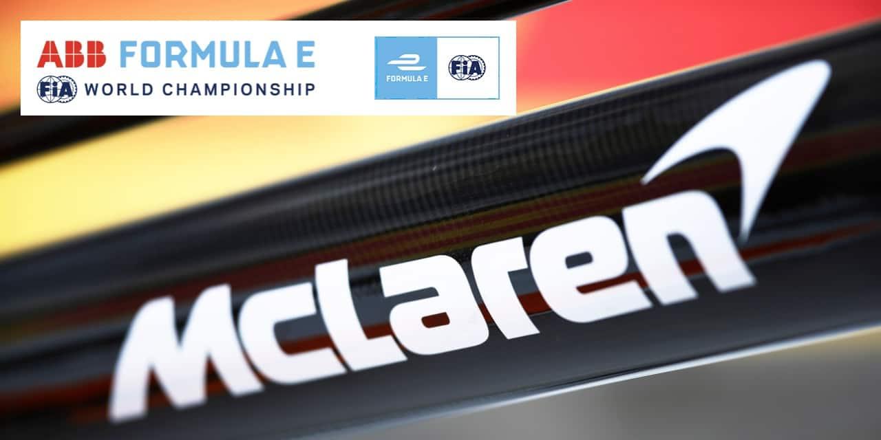 McLaren prend une option sur la Formula E Gen3
