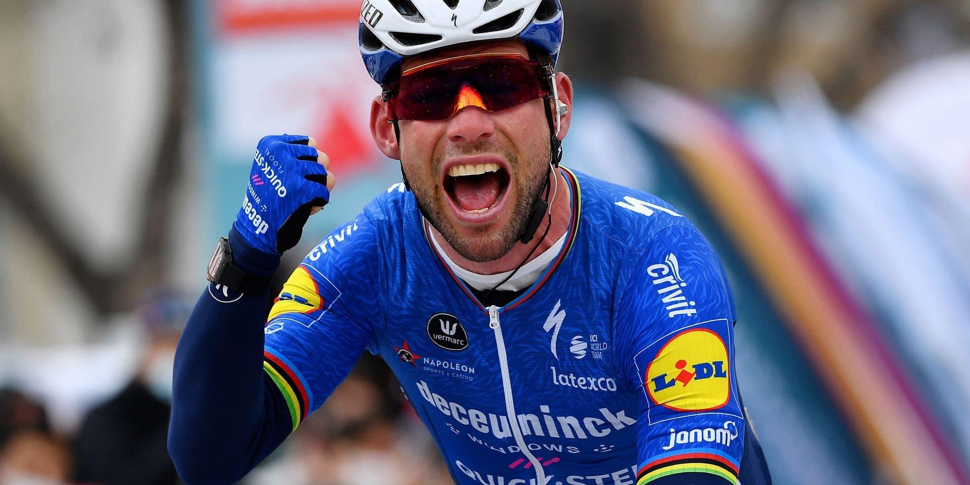 """Cavendish heureux après sa victoire en Turquie: """"Merci à Patrick Lefevere qui a cru en moi"""""""